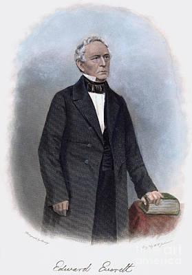 Edward Everett (1794-1865) Art Print by Granger