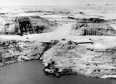 Photograph - Egpyt: Abu Simbel by Granger