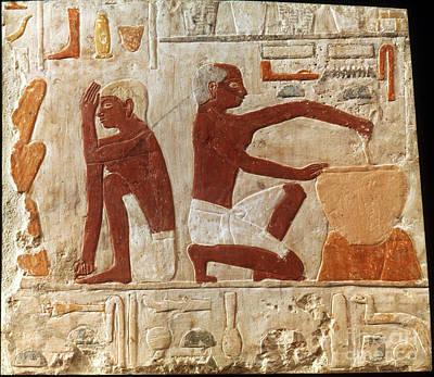 Photograph - Egypt: Bread Making by Granger