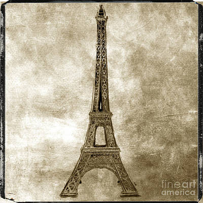 The Eiffel Tower Photograph - Eiffel Tower. Paris by Bernard Jaubert