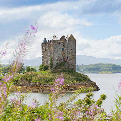 Flowers Photograph - Eilean Donan Castle by Andrew  Michael