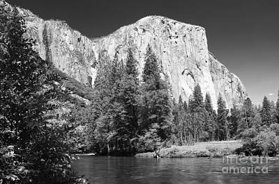 Photograph - El Capitan And Merced River by Sandra Bronstein