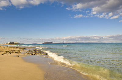 Corralejo Photograph - el Jable Natural Park, The Beach by Maremagnum