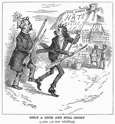 Election Cartoon, 1884 Art Print