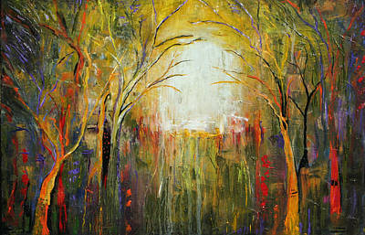 Painting - Electric Forest by Lauren  Marems