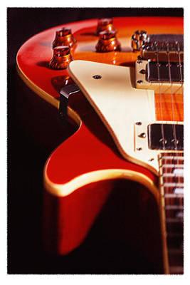 Electric Guitar I Print by Mike McGlothlen