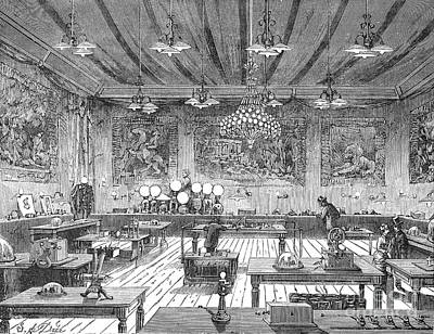 Electrical Exposition, 1881 Art Print