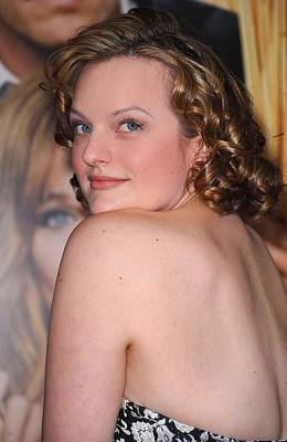 Elisabeth Moss At Arrivals For Did You Art Print by Everett