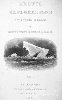 Elisha Kent Kane (1820-1857) Art Print by Granger