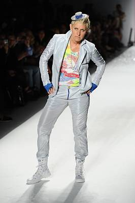 Mercedes-benz Fashion Week Show Photograph - Ellen Degeneres In Attendance by Everett
