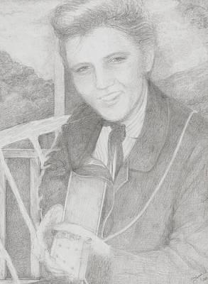 Elvis Presley Art Print by Jami Cirotti