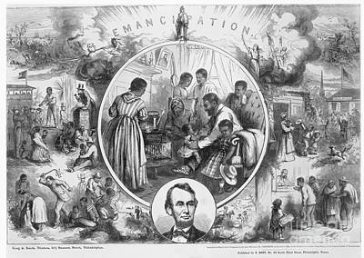Whipping Wall Art - Photograph - Emancipation Proclamation by Granger