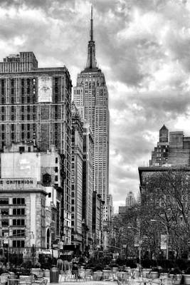 Photograph - Empire State Building by Michael Dorn