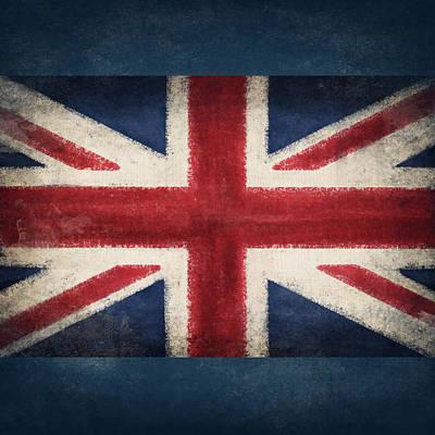 England Flag Art Print
