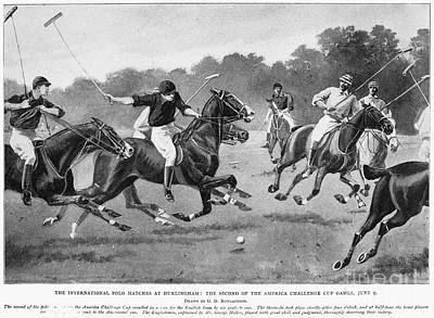 England: Polo, 1902 Art Print by Granger