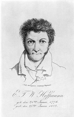 Ernst Hoffmann (1776-1822) Art Print by Granger