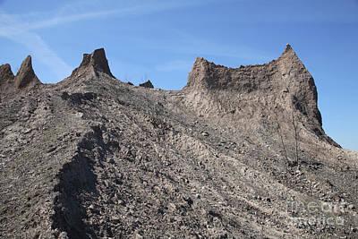 Erosion Of Glacial Drumlin Art Print by Ted Kinsman