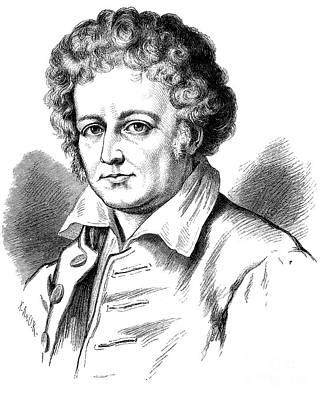 Esaias Tegner (1782-1846) Art Print by Granger