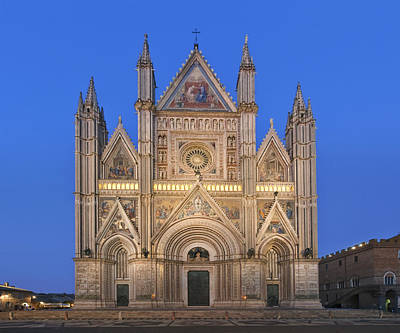 Europe Italy Umbria Orvieto Orvieto Art Print by Rob Tilley