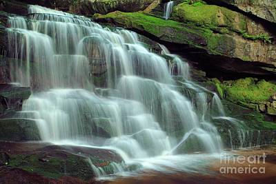 Photograph - Evening At The Falls by Adam Jewell