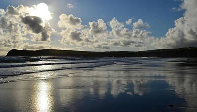 Kinard Photograph - Evening On Kinard Beach by Barbara Walsh