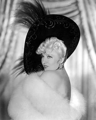 Every Days A Holiday, Mae West, 1937 Art Print