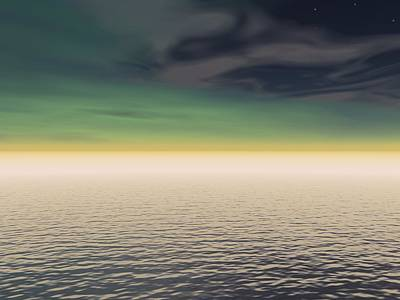 Vern Photograph - Expanse Of Water And Sky by Paul Sale Vern Hoffman