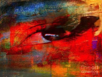 Yesayah Mixed Media - Eye Contact by Fania Simon