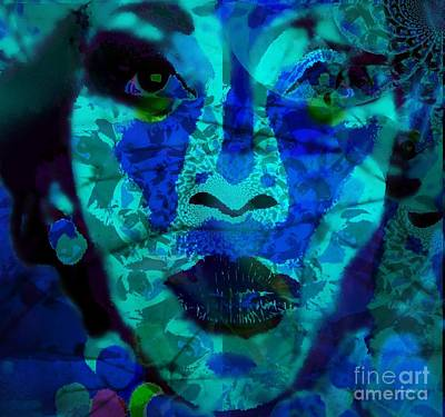 Submissive Women Art Mixed Media - Eyes Of Nigeria - Genevieve by Fania Simon