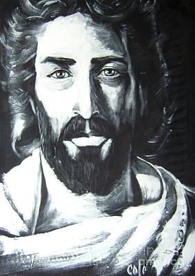 Face Of Christ Art Print