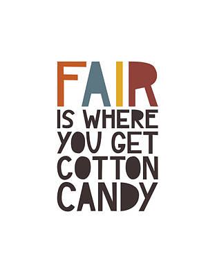 Candy Digital Art - Fair by Megan Romo