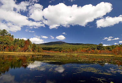 Fall Day At Perkins Pond Art Print