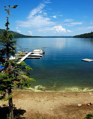 Tahoe Photograph - Fallen Leaf Lake Lake Tahoe by LeeAnn McLaneGoetz McLaneGoetzStudioLLCcom