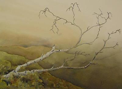 Fallen Art Print by Ramona Kraemer-Dobson