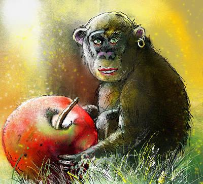 Art Miki Digital Art - Fancy A Nibble Darling by Miki De Goodaboom