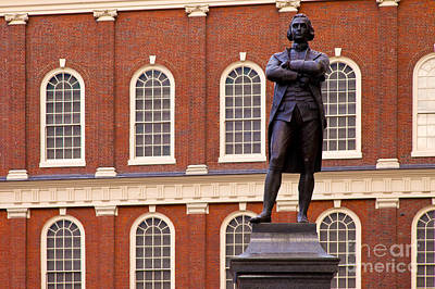 Photograph - Faneuil Hall by Brian Jannsen