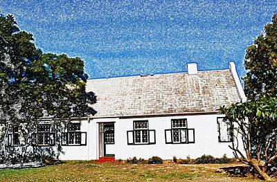 Farm House Art Print by Werner Lehmann