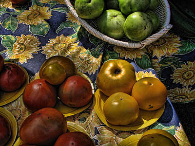 Photograph - Farmers Market by Ann Bridges