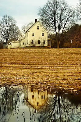 Farmhouse Art Print by HD Connelly