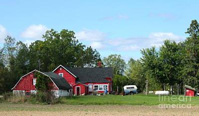 Photograph - Farmland by Pamela Walrath