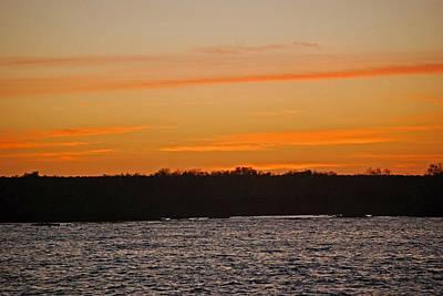 Photograph - Fernandina Sunset by Harvey Barrison