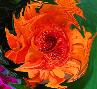 Fertility Digital Art - Fertility Chakra by Vijay Sharon Govender
