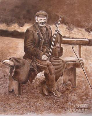Fiddler Art Print by Colleen Quinn
