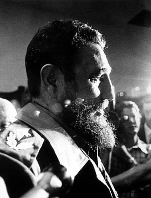 Fidel Castro, In 1974 Print by Everett