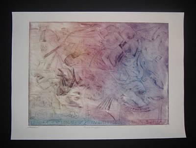 Financial Armageddon  Art Print by John  Schwind