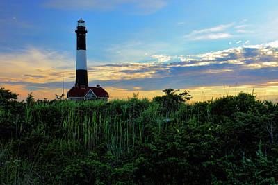 Guiding Light Photograph - Fire Island Lighthouse by Rick Berk