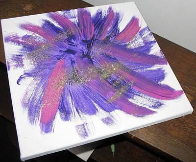 Fireworks Art Print by Diana  Lesher