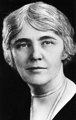 First Lady Lou Henry Hoover 1874-1944 Art Print by Everett
