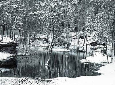 Photograph - First Snow Fall by Vladimir Kholostykh