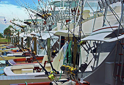 Fishing Fleet Original by Michael Thomas